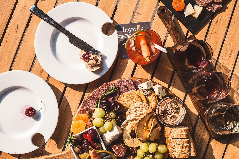 cheeses and organic wine